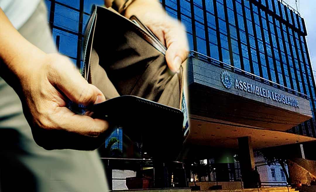 Problema no sistema de envio da folha de pagamento da Aleac para a Caixa deixa deputados do Acre e servidores sem salários