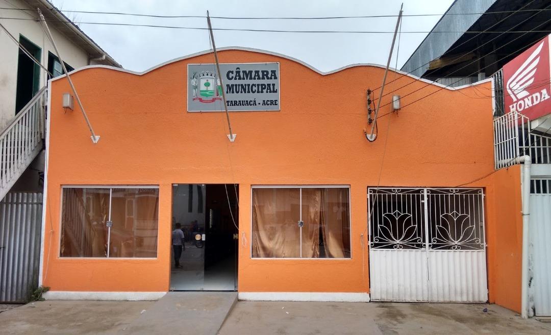 Chico Batista, Lulu Neri e Valdor do Ó disputam a presidência da Câmara de Tarauacá