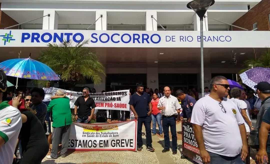 Trabalhadores da Saúde reclamam de não recebimento integral do auxílio pandemia e prometem parar dia 15