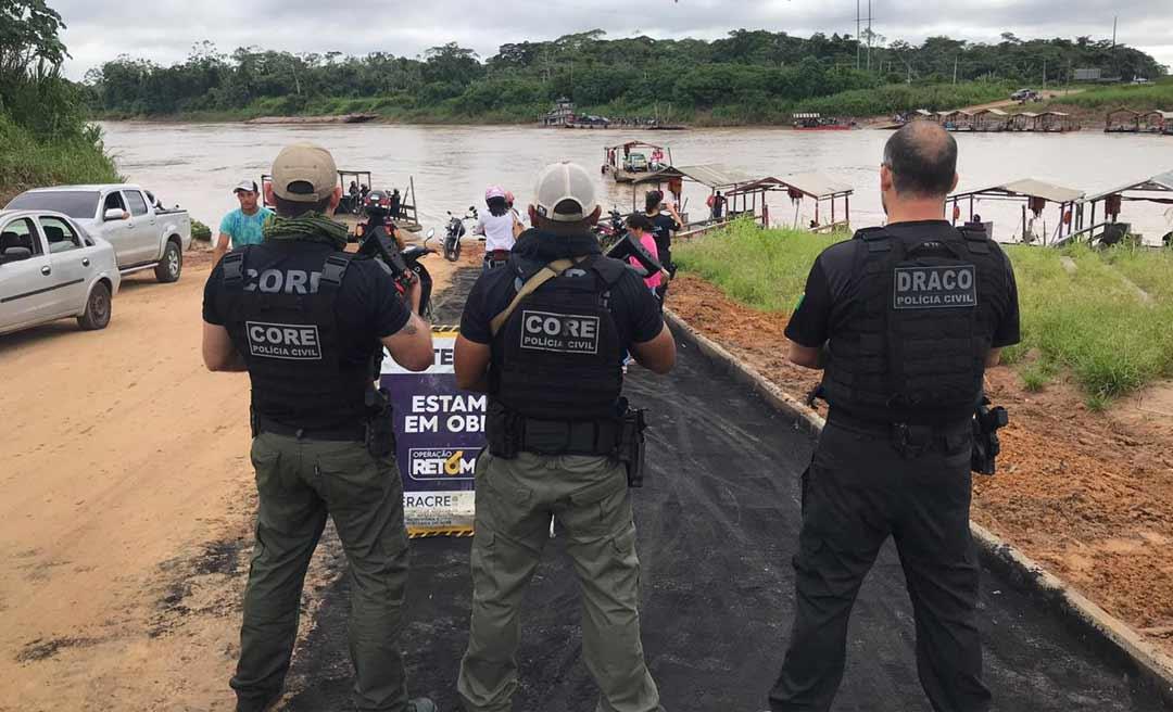 """Polícia Civil do Acre deflagra """"Operação Flash Point """"e prende 5 pessoas em Mâncio Lima e Rodrigues Alves"""
