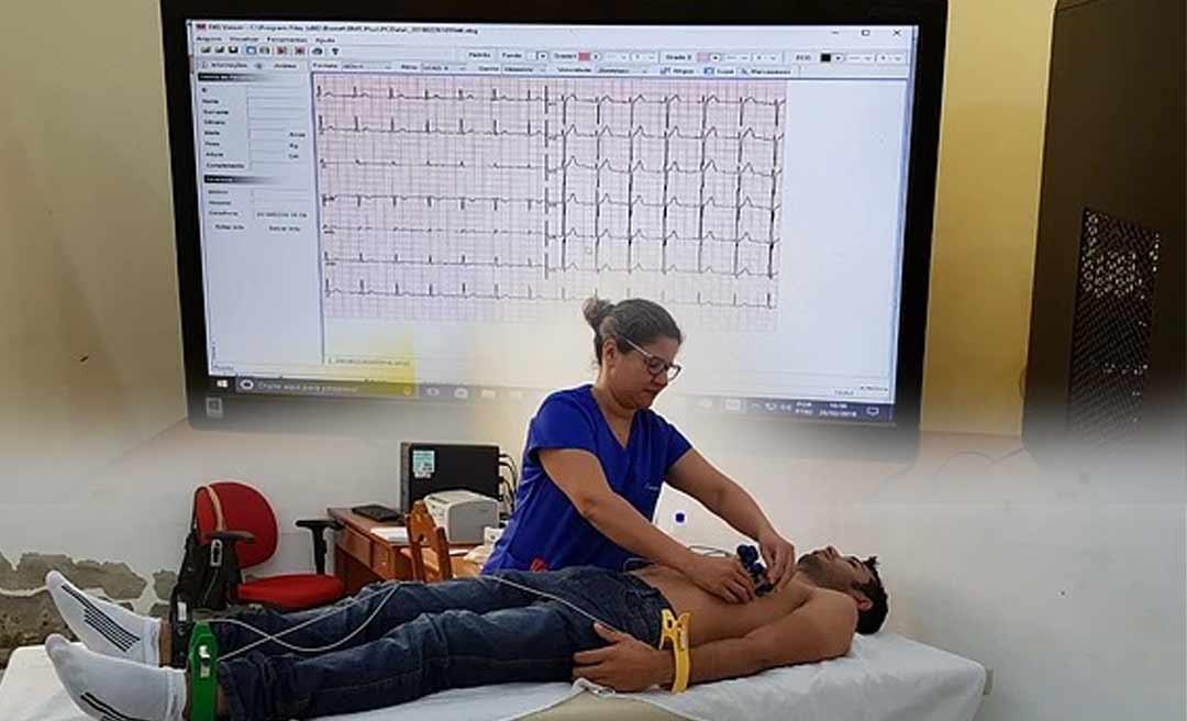 Tarauacá agora oferece exame de eletrocardiograma em todas as unidades de Saúde; o único do Acre a fazer isso