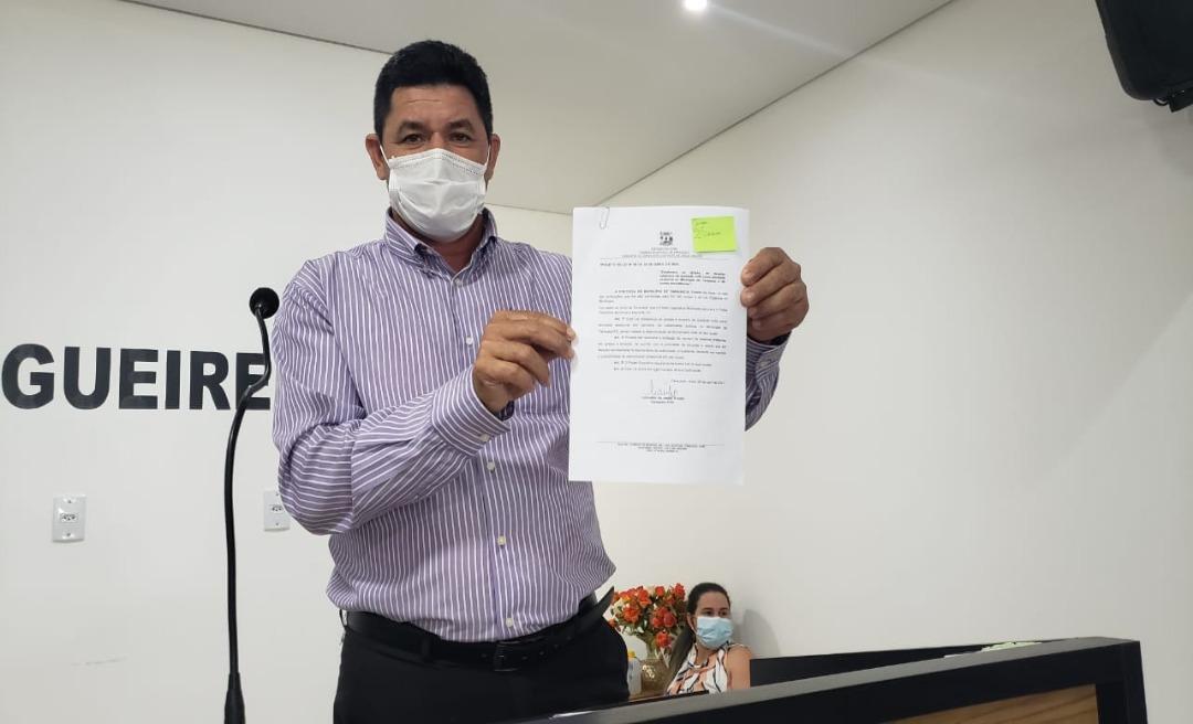 Lulu Neri é o novo líder da prefeita Maria Lucinéia na Câmara de Vereadores de Tarauacá