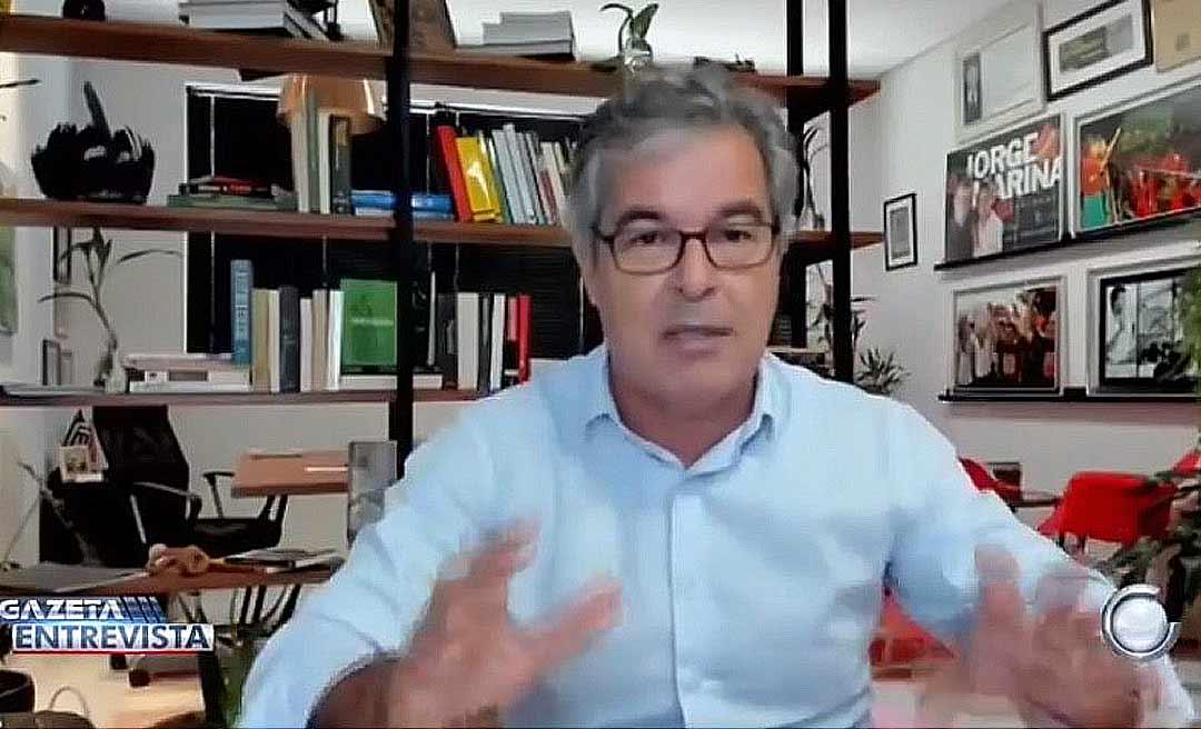 """Petista Jorge Viana chama Gladson de """"fraco"""" e diz que Rocha agride o governador"""