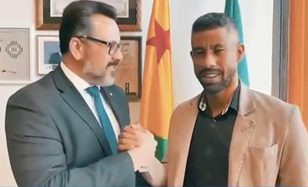 Alan Rick anuncia parceria com Léo Moura para formar craques de futebol no Acre