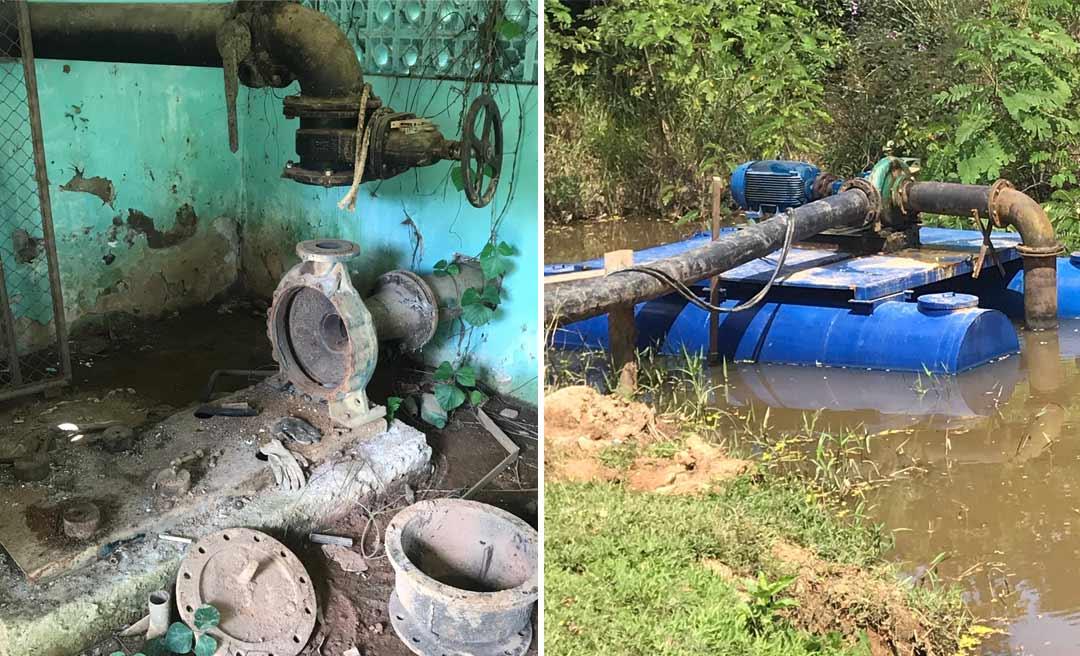 Qualidade da água distribuída pelo Depasa em Epitaciolândia pode comprometer saúde da população; veja o vídeo