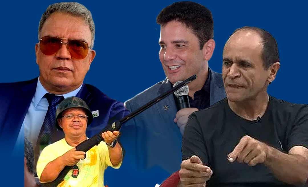 """Moisés Diniz chama Petecão de """"esperto"""" e """"ingrato"""" e ouve do anão Montana: """"baba ovo de governador"""""""